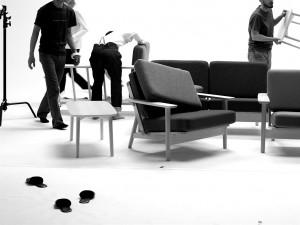 スモールテーブル撮影風景3
