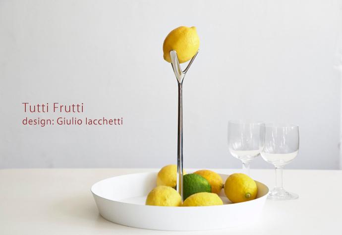 """ALESSI社 フルーツボウル""""Tutti Frutti"""""""