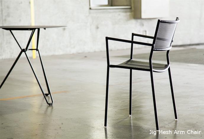 jig arm chair
