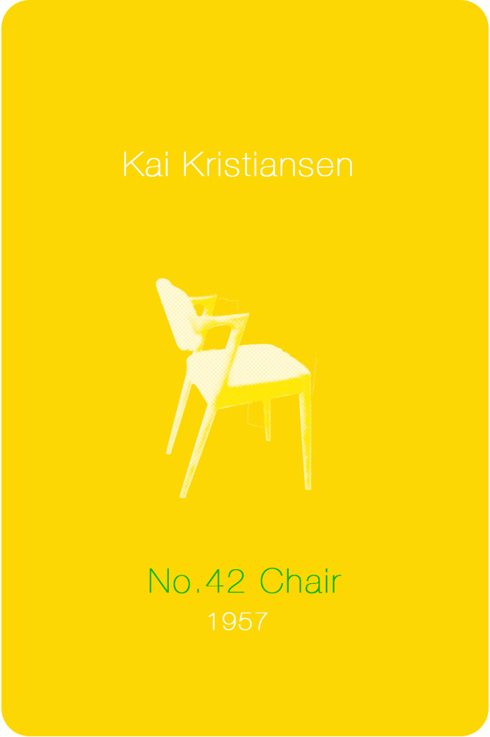No.42 Chair / Kai Kristiansen / 1957