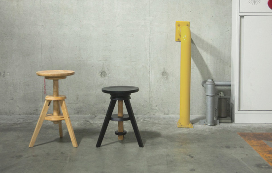 pianola stool(pols potten)