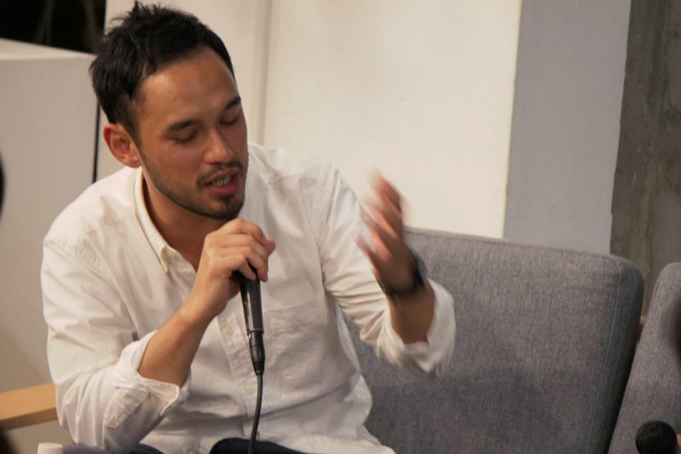 Talk Cafe 2012 熊野亘 × 舘鼻則孝 vol.1