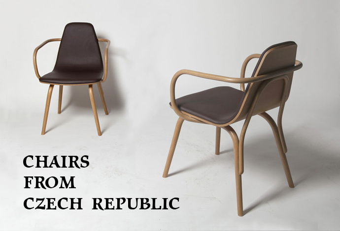 Chairs from Czech Republic